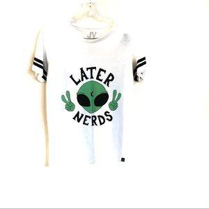 Jac Vanek Later Nerds Tee Shirt